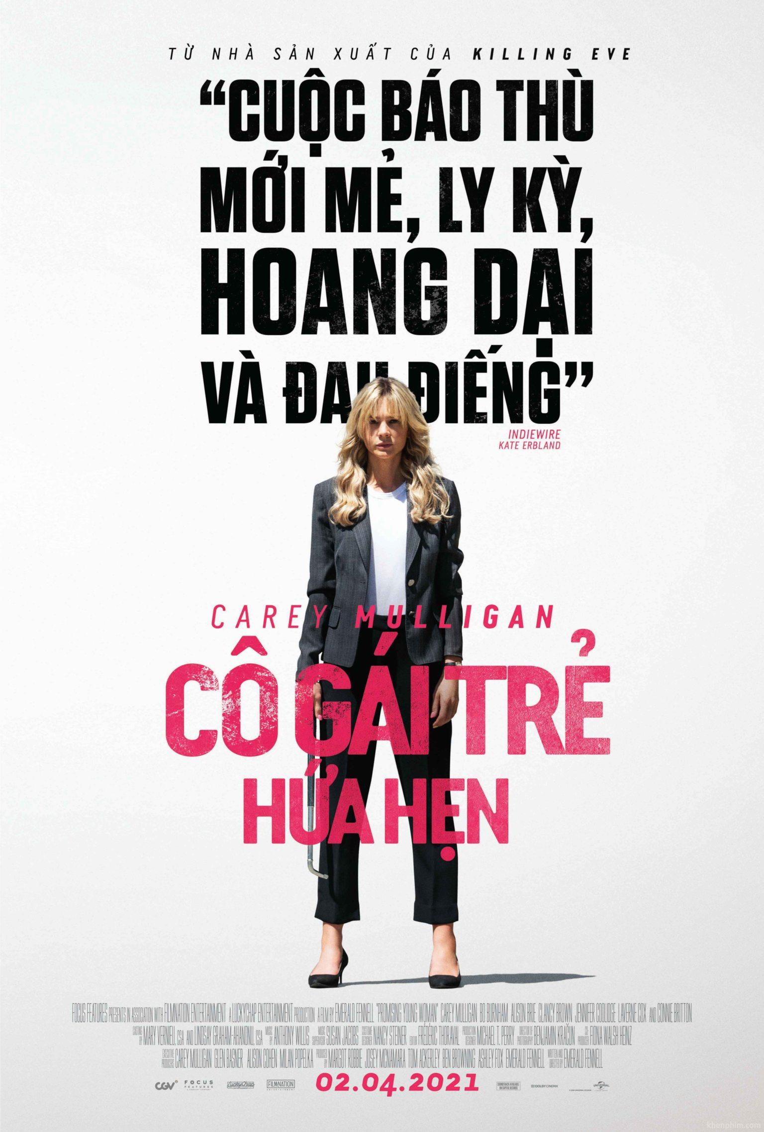 Poster phim Cô Gái Trẻ Hứa Hẹn (Promising Young Woman)