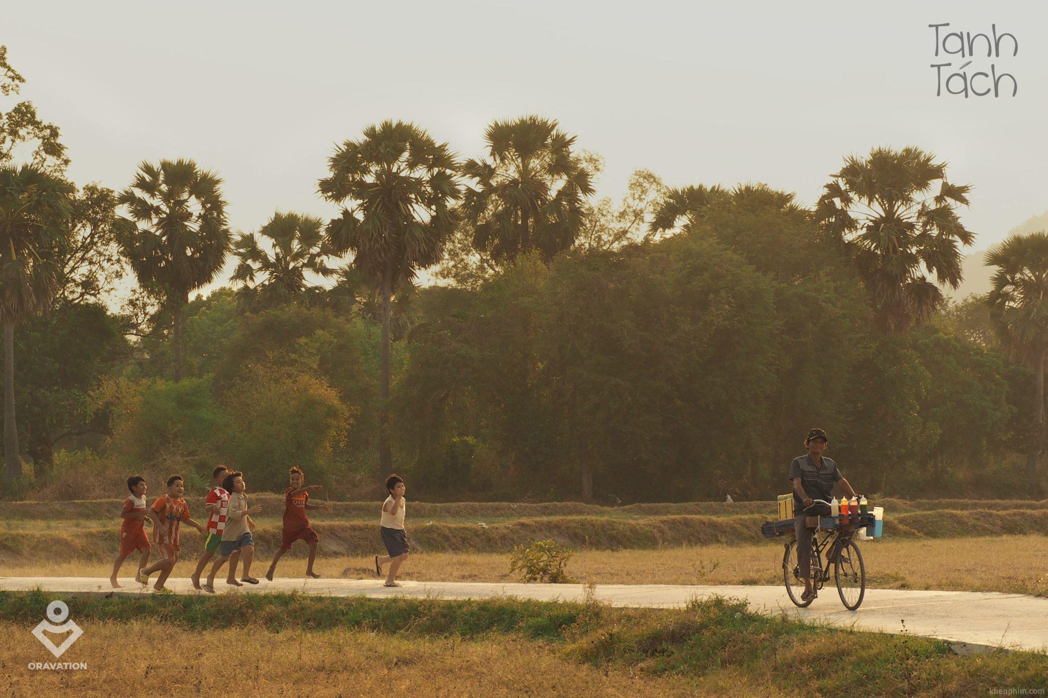 Bối cảnh làng quê thanh bình trong phim Tanh Tách