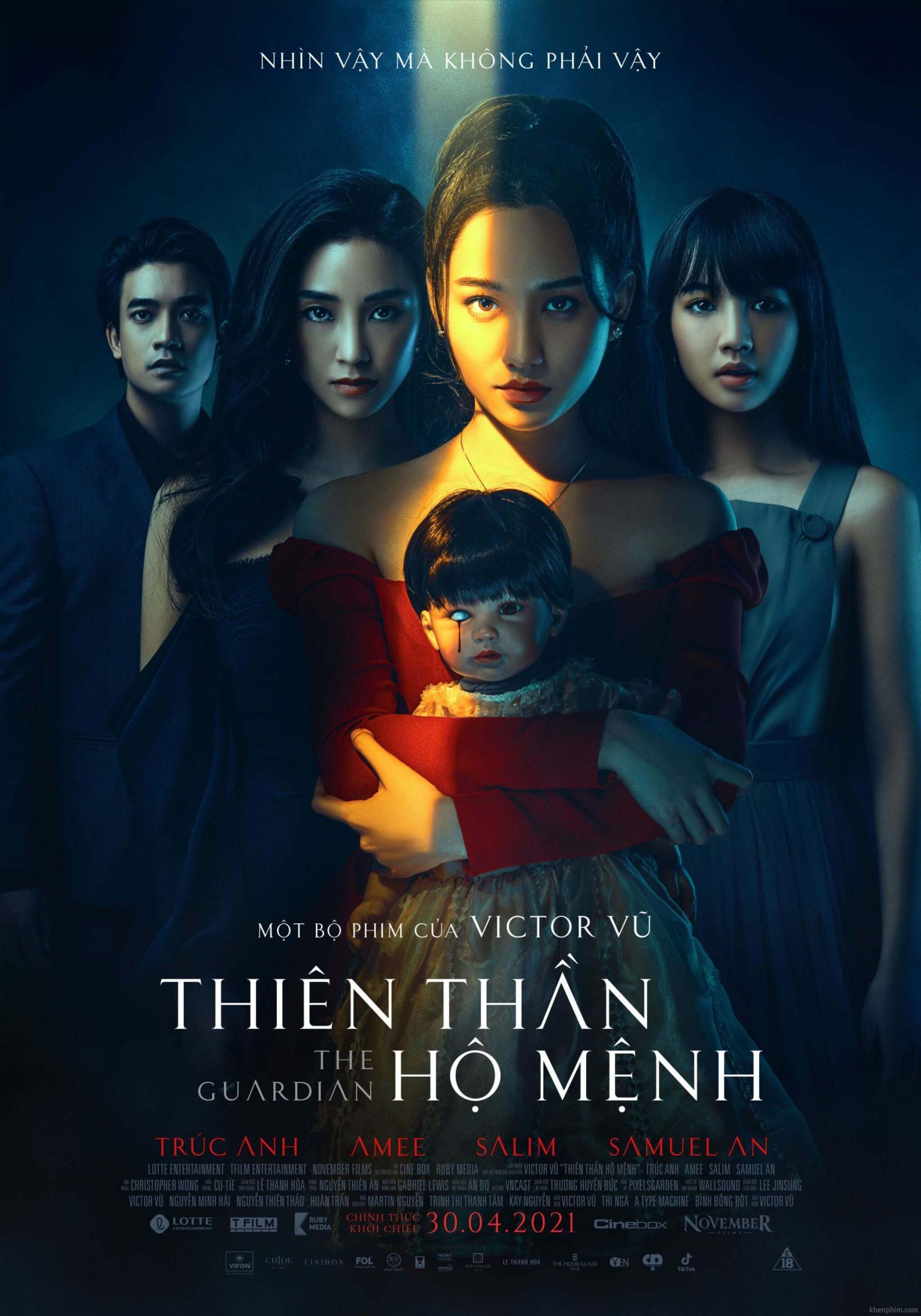Poster phim Thiên Thần Hộ Mệnh