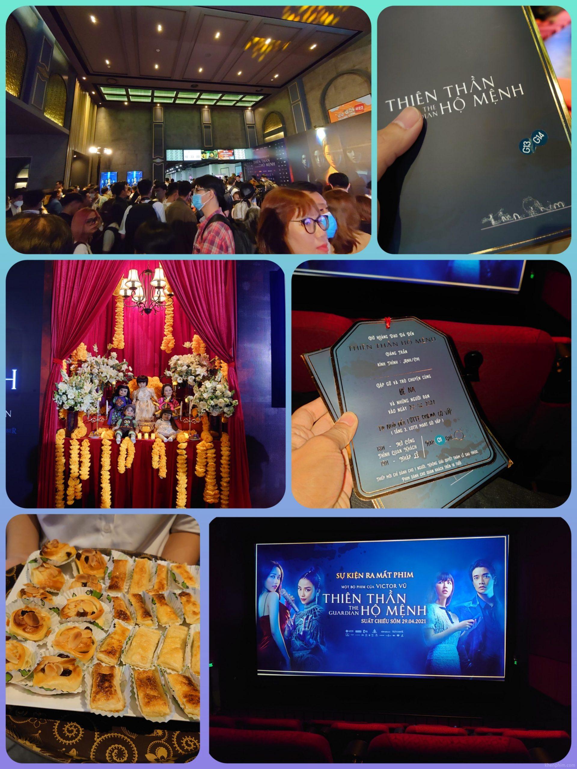 Hình ảnh tại sự kiện công chiếu phim Thiên Thần Hộ Mệnh