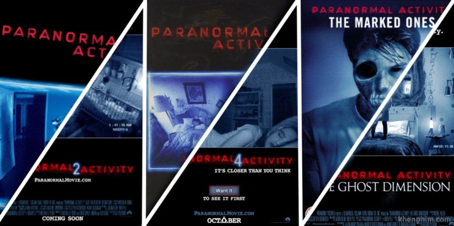 thương hiệu Paranormal Activity