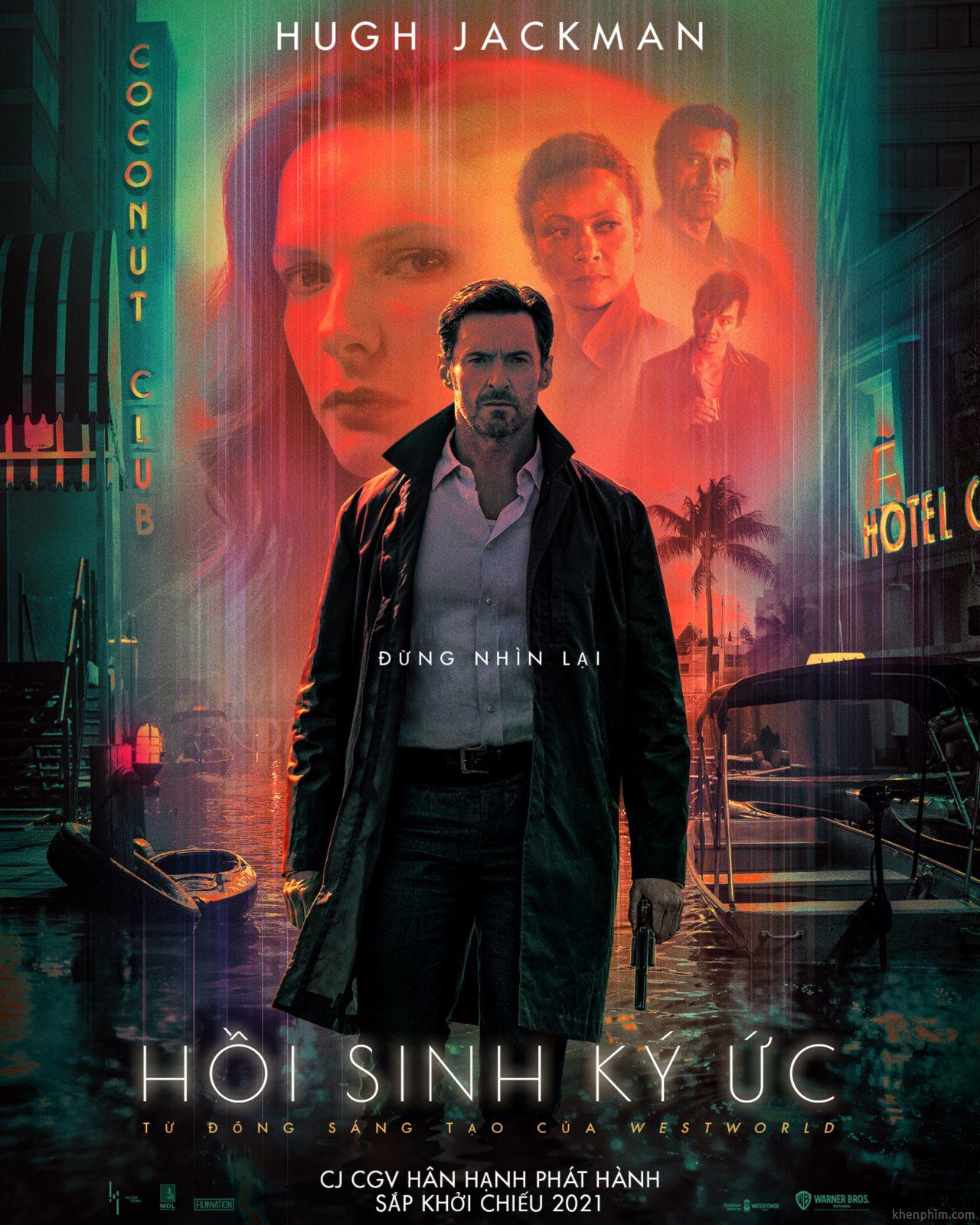 Poster phim Reminiscence (tựa Việt: Hồi Sinh Ký Ức)