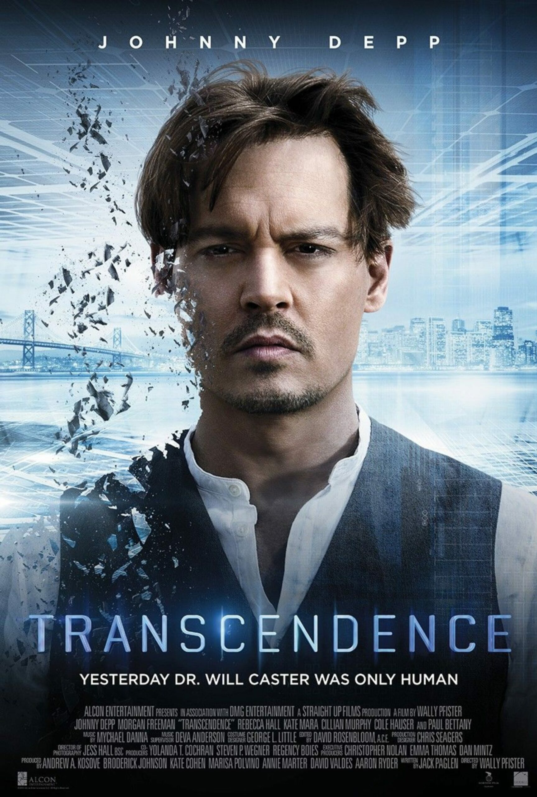 Poster phim Transcendence (Trí Tuệ Siêu Việt)