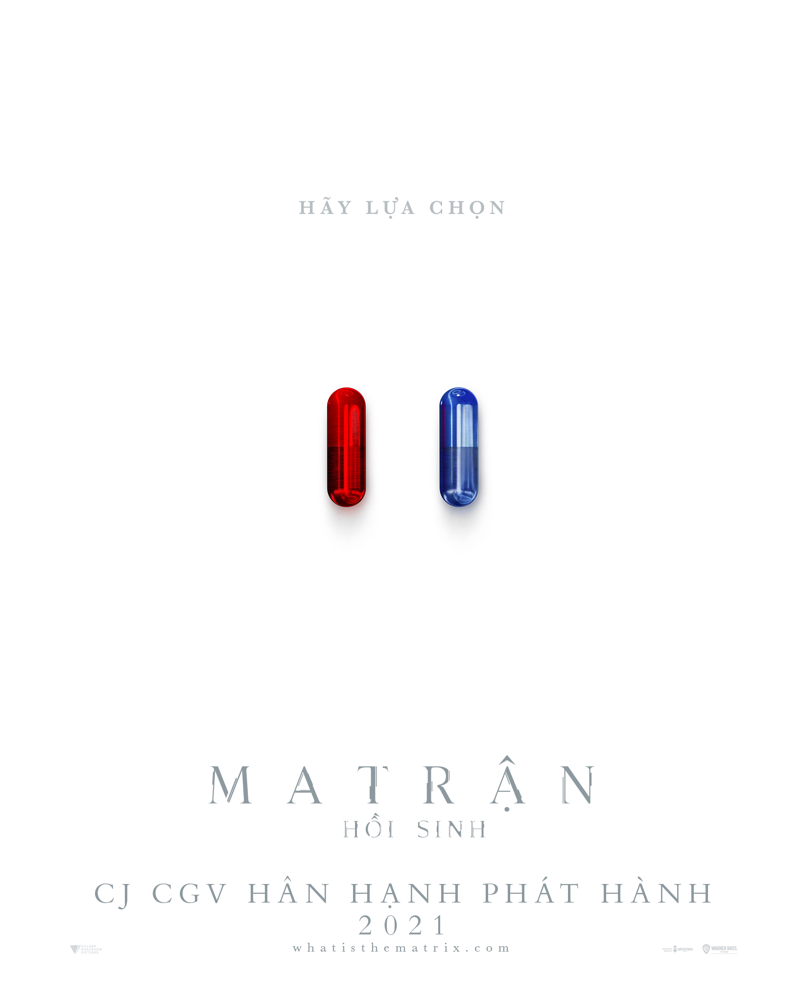 Teaser poster của phim THE MATRIX RESURRECTIONS (Ma Trận: Hồi Sinh)